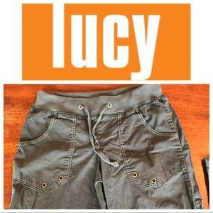 Lucy drawstring cargo shorts